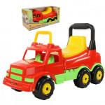 Детская игрушка  Каталка-автомобиль Буран №1 (красная) (в коробке) арт. 67210. Полесье