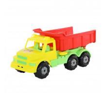 Детская игрушка автомобиль-самосвал (жёлто-красный) Буран №1 арт. 43627. Полесье