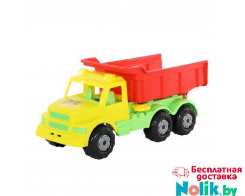 Детская игрушка автомобиль-самосвал (жёлто-красный) Буран №1 арт. 43627. Полесье в Минске