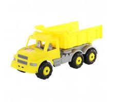 Детская машинка-самосвал (жёлтый) Буран №2 арт. 43665. Полесье