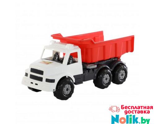 Детская игрушка автомобиль-самосвал (бело-красный) Буран №3 арт. 43672. Полесье в Минске