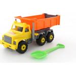 Детская игрушка автомобиль-самосвал + лопата большая Супергигант арт. 6806. Полесье