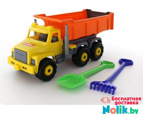 Детская игрушка автомобиль-самосвал + лопата и грабли большие Супергигант арт. 5557. Полесье в Минске
