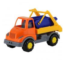 Детская игрушка автомобиль-коммунальная спецмашина Леон арт. 52896. Полесье