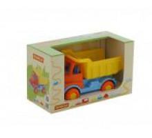 Детская игрушка автомобиль-самосвал (в коробке) Леон арт. 68194. Полесье
