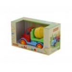 Детская игрушка автомобиль-бетоновоз (в коробке) Леон арт. 68200. Полесье