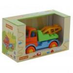 Детская игрушка автомобиль-эвакуатор (в коробке) Леон арт. 68217. Полесье