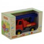Детский автомобиль-пожарная спецмашина (в коробке) Леон арт. 68224. Полесье