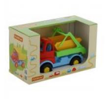 Детская игрушка автомобиль-коммунальная спецмашина (в коробке) Леон арт. 68231. Полесье