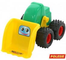 Детская игрушка  трактор-погрузчик Чип арт. 38296. Полесье