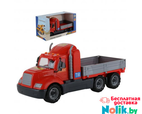 Детская игрушка автомобиль бортовой (в коробке) Майк арт. 55460. Полесье в Минске