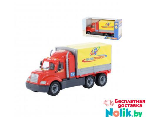 Детская игрушка автомобиль бортовой тентовый (в коробке) Майк арт. 55552. Полесье в Минске