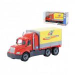 Детская игрушка автомобиль бортовой тентовый (в коробке) Майк арт. 55552. Полесье