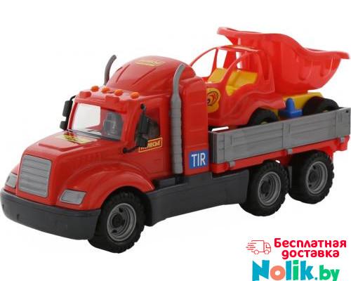 Детская игрушка автомобиль бортовой +  автомобиль-самосвал (в сеточке) Майк арт. 55491. Полесье в Минске
