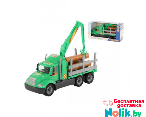 Детская игрушка автомобиль-лесовоз (в коробке) Майк арт. 55644. Полесье в Минске