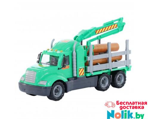 Детская игрушка автомобиль-лесовоз (в сеточке) Майк арт. 55651. Полесье в Минске