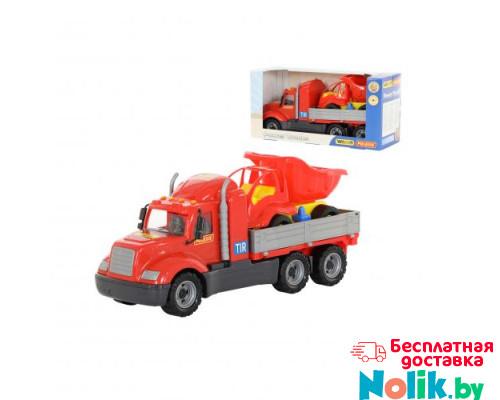 Детская игрушка автомобиль бортовой + автомобиль-самосвал (в коробке) Майк арт. 55484. Полесье в Минске
