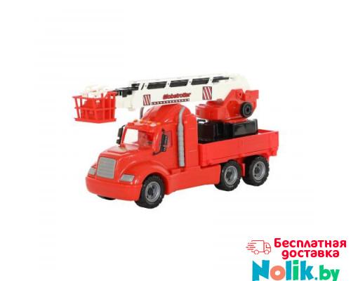 Детская игрушка автомобиль пожарный (в сеточке) Майк арт. 55620. Полесье в Минске