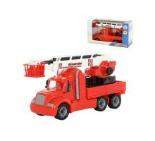 Детская игрушка автомобиль пожарный (в коробке) Майк арт. 61973. Полесье