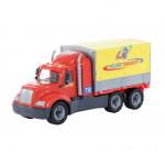 Детская игрушка автомобиль бортовой тентовый (в лотке) Майк арт. 58485. Полесье