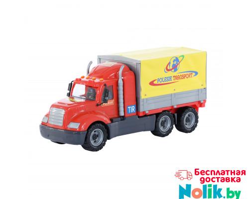 Детская игрушка автомобиль бортовой тентовый (в лотке) Майк арт. 58485. Полесье в Минске