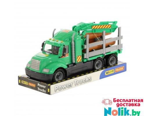 Детская игрушка автомобиль-лесовоз (в лотке) Майк арт. 58522. Полесье в Минске