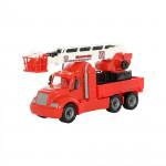 Детская игрушка автомобиль пожарный (в лотке) Майк арт. 58553. Полесье