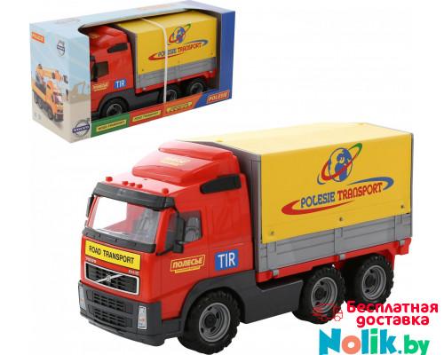 Детская игрушка автомобиль бортовой тентовый (в коробке) Volvo арт. 9548. Полесье в Минске