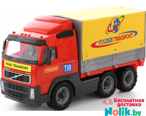 Детская игрушка автомобиль бортовой тентовый (в сеточке) Volvo арт. 8763. Полесье в Минске