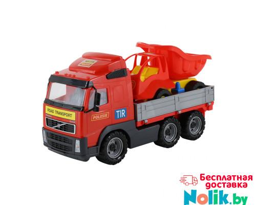 Детская игрушка автомобиль бортовой + автомобиль-самосвал (в сеточке) Volvo арт. 9470. Полесье в Минске