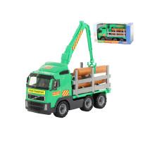 Детская игрушка автомобиль-лесовоз (в коробке) Volvo арт. 9531. Полесье