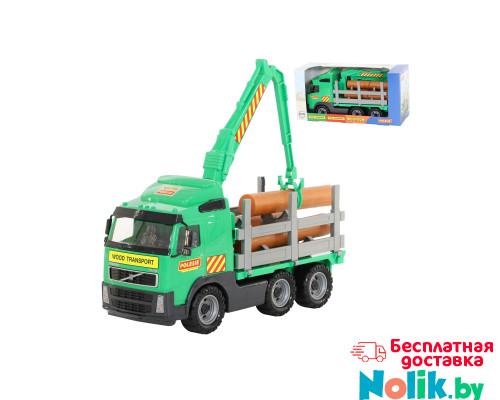 Детская игрушка автомобиль-лесовоз (в коробке) Volvo арт. 9531. Полесье в Минске