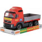 Детская игрушка автомобиль бортовой (в лотке) Volvo арт. 58225. Полесье
