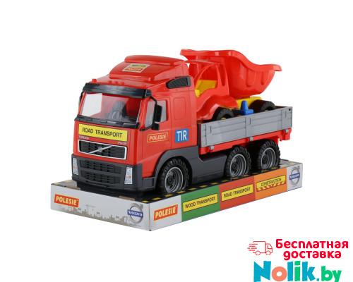 Детская игрушка автомобиль бортовой +  автомобиль-самосвал (в лотке) Volvo арт. 58232. Полесье в Минске