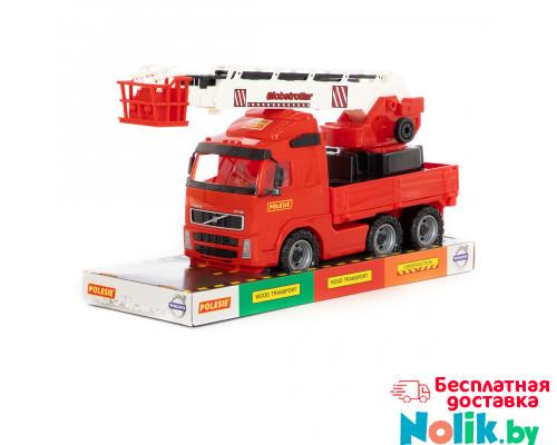 Детская игрушка автомобиль пожарный (в лотке) Volvo арт. 58386. Полесье в Минске