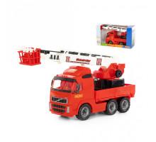 Детская игрушка автомобиль пожарный (в коробке) Volvo арт. 58379. Полесье