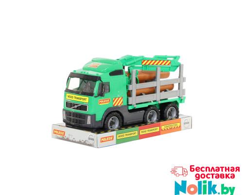 Детская игрушка автомобиль-лесовоз (в лотке) Volvo арт. 58331. Полесье в Минске
