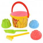 Детская игрушки песочный набор Три кота №3 арт. 62338 Полесье