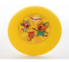 Детская летающая тарелка Три кота арт. 63205 Полесье