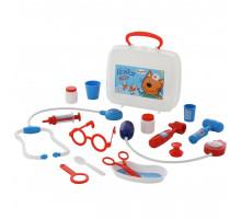 Детский набор доктора Три Кота Доктор (в чемоданчике) арт. 65346 Полесье