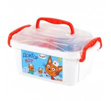Детская игрушка набор доктора Три Кота (в контейнере) арт. 65353 Полесье