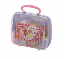 Детская игрушка игровой набор для девочки Три Кота Принцессы (в чемоданчике) арт. 65360 Полесье