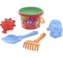 Детская игрушка набор для песка Смешарики арт. 0061 Полесье