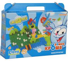 Детская игрушка конструктор Смешарики - Домик Кроша (в коробке) арт. 9240 Полесье