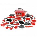 Детский набор инструментов Смешарики - Пин код (166 элементов) (в контейнере) арт. 70593 Полесье