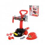 Детский набор инструментов с тележкой Смешарики - Пин-Механик (в коробке) арт. 71408 Полесье