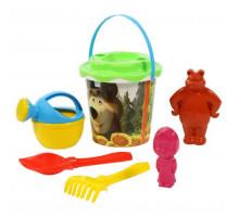 Детский игровой набор для песочницы Маша и Медведь. Арт GT8269. Полесье