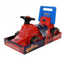 Детская каталка автомобиль Marvel Человек-паук (в лотке). Арт. 70685 Полесье