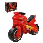 Детская каталка мотоцикл Disney/Pixar Тачки (в коробке). Арт. 70548 Полесье