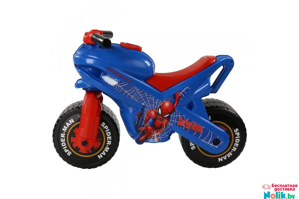 Каталка детская мотоцикл Marvel Человек-паук (в коробке ...